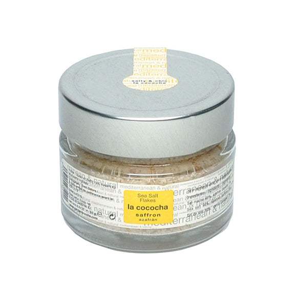 LA COCOCHA Mediterranean Sea Salt Flakes with Saffron