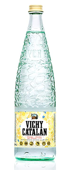 Vichy Catalan Mineral Water 33.8 oz (1 Lt) (12 Glass Bottles) - <span style=