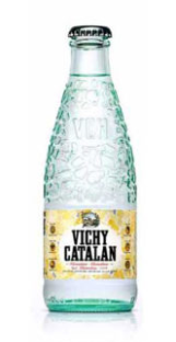 Vichy Catalan Mineral Water 250ml  (24 Glass Bottles) - <span style=