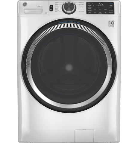 GE - 5.5 cu. ft. (IEC) Capacity Washer with Built-In WiFi - White