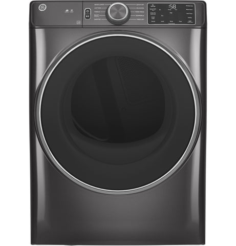 GE - 7.8 cu. ft. Capacity Dryer with Built-in WiFi Diamond Grey