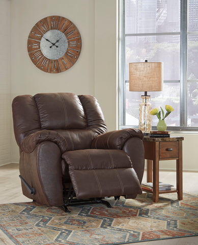 McGann - Walnut - Rocker Recliner