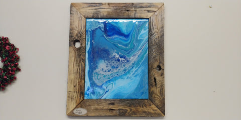 Bit of a Quagmire - Rustic Reclaimed Wood Frame