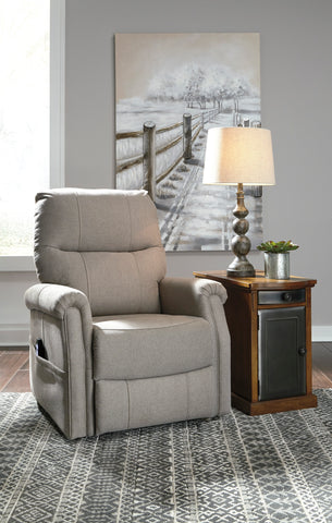 Markridge - Gray - Power Lift Chair