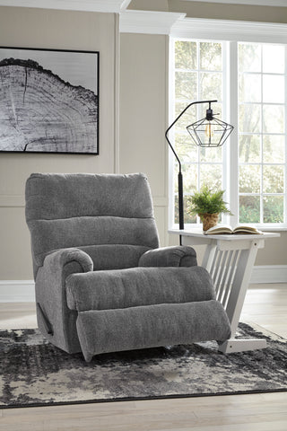 Man Fort - Graphite - Rocker Recliner