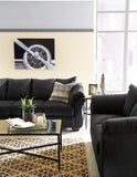 Darcy - Black - Sofa/Loveseat