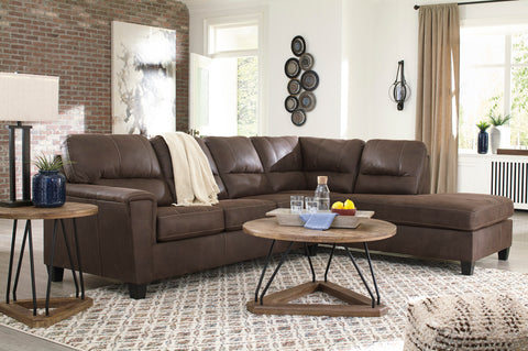 Navi - Chestnut - Sectional
