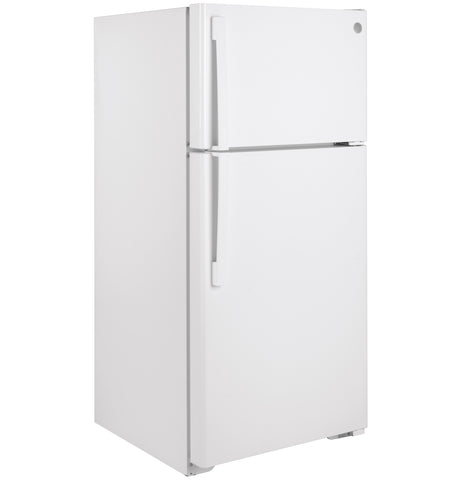 GE® ENERGY STAR® 15.6 Cu. Ft. Top-Freezer Refrigerator - White