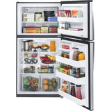 "GE 33"" 21.2 cu. ft. Top Mount Refrigerator - Stainless Steel"