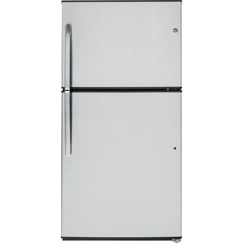 "GE 33"" 21.2 cu. ft. Top Mount Refrigerator - Stainless"