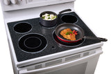 "GE 30"" Free Standing Electric Self Cleaning Convection Range"