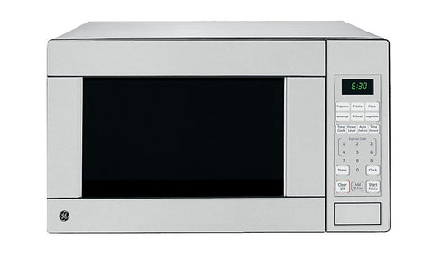 GE 1.1 cu. ft. Countertop Microwave Oven in Stainless Steel