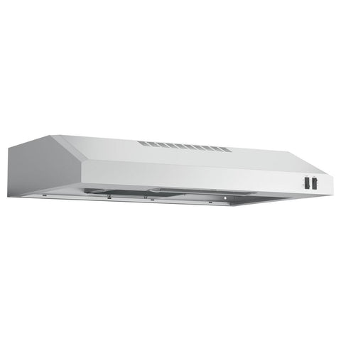 "GE 30"" 2 SPEED UNDER THE CABINET VENT HOOD"