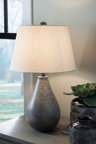 Bateman - Patina - Metal Table Lamp Set