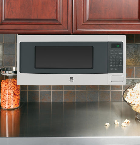 GE 1.1 Cu. Ft. Spacemaker Microwave Oven - Slate