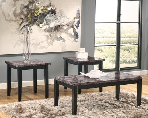 Maysville - Black - Occasional Table Set