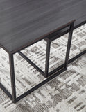Yarlow - Black - Occasional Table Set