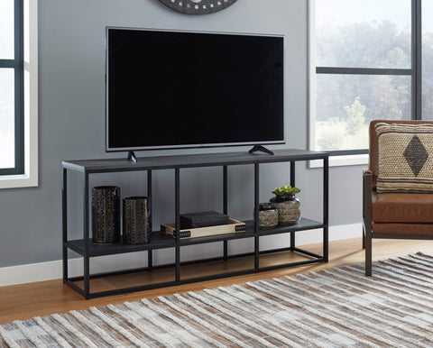 Yarlow - Black - Extra Large TV Stand
