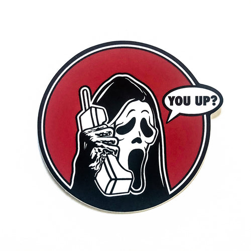 Ghostface - You Up? Sticker