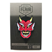 Kasper Made Me Do It - Devil Lapel Pin