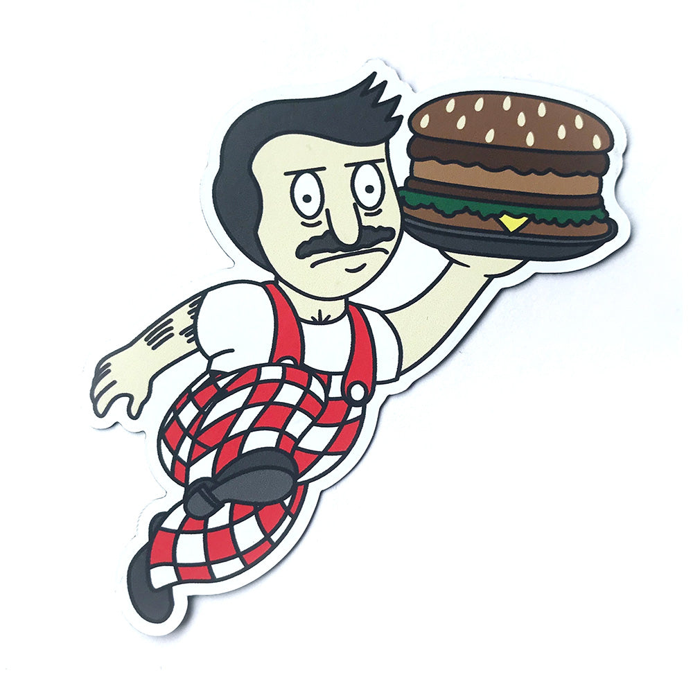 Bob's Big Boy Burger Magnet