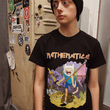 Mathematical - Adventure Time Iron Maiden Mash up Shirt - Black