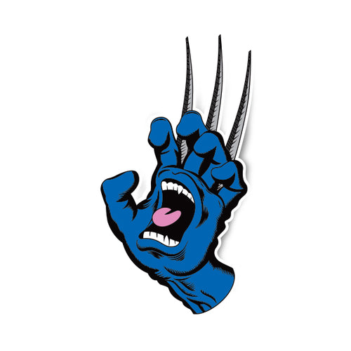 Screaming Wolverine Hand Sticker
