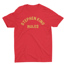 Stephen King Rules - Red - Monster Squad T-shirt