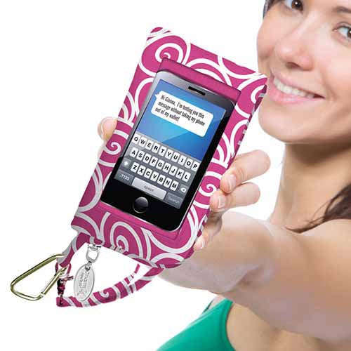 Cell Phone Wallet/Wristlet