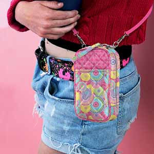 Cell Phone Purse - Quilt- NEW
