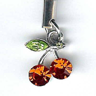 Cherries Purse Charm