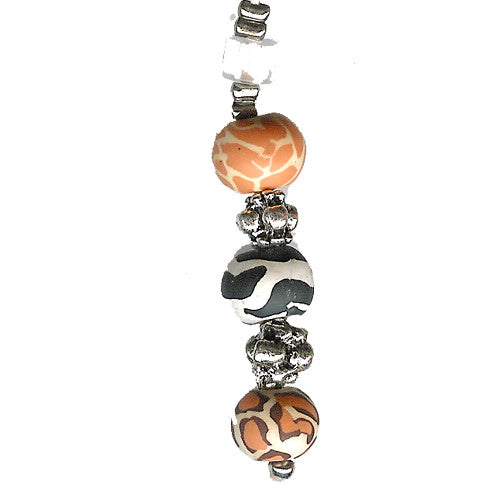 Safari Clay Beads Charm - Charm14