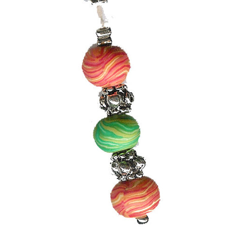 Popsicle Clay Beads Charm - Charm14