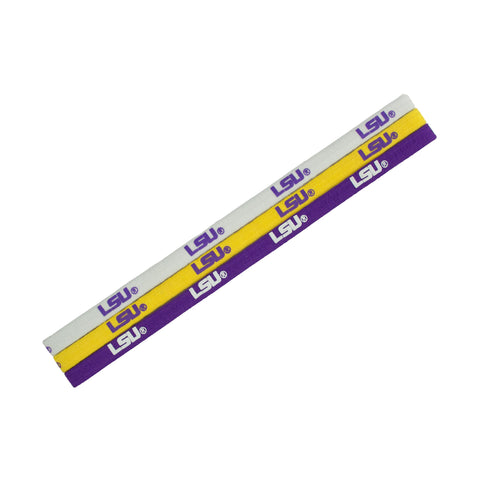 Louisiana State University Tigers- Elastic Headband