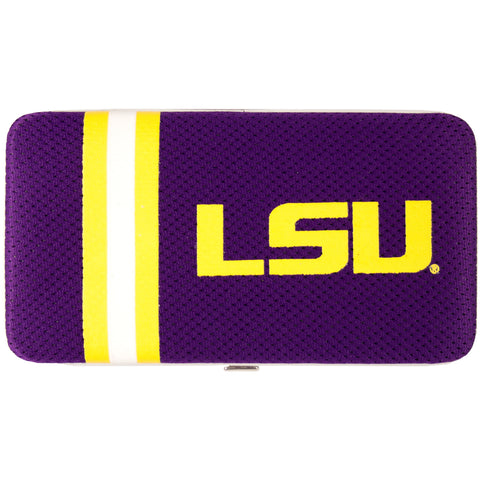 NCAA LSU Tigers Shell Mesh Wallet - Charm14