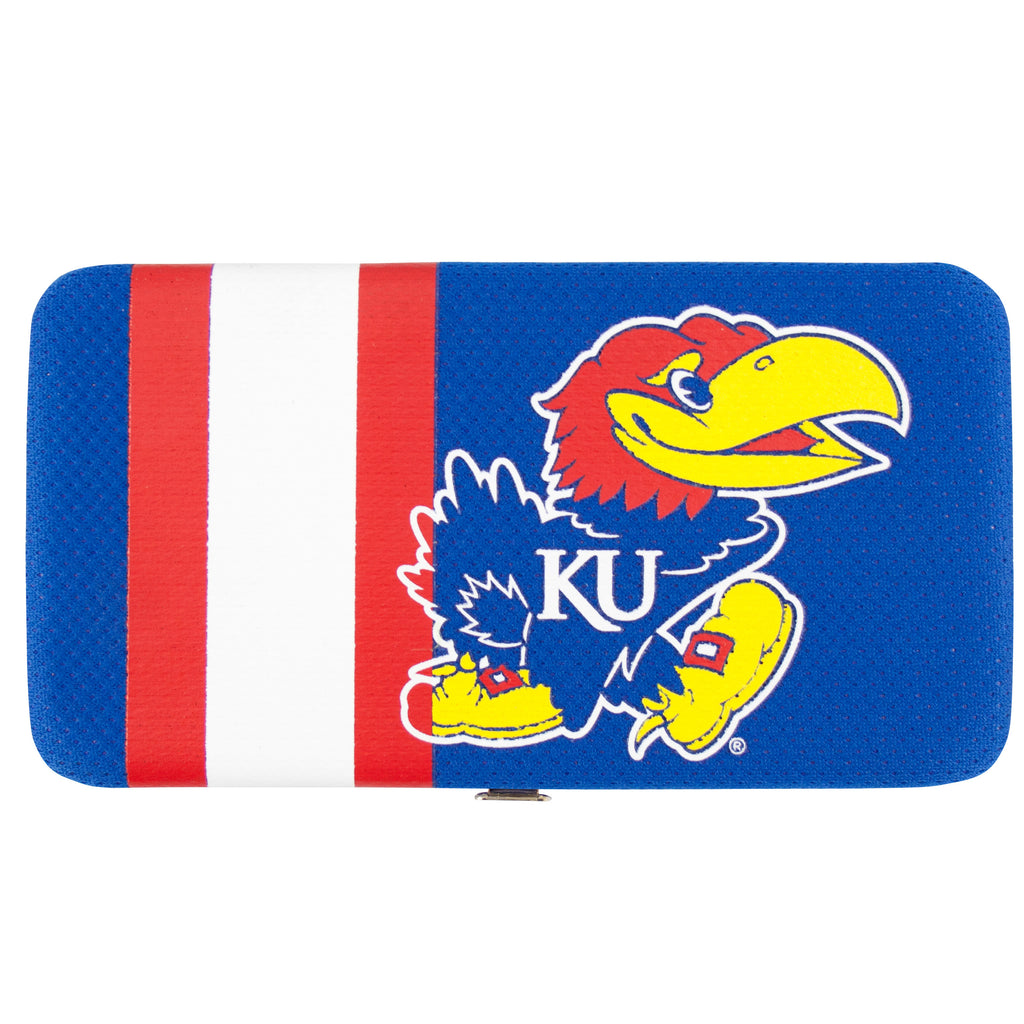 Kansas Jayhawks Shell Mesh Wallet