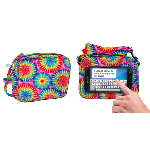 Rainbow Tie Dye Crossbody Bag - Charm14
