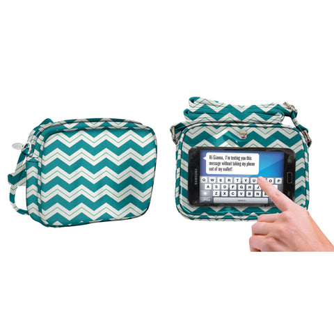 Chevron Crossbody Bag - Charm14