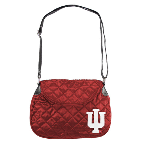 Indiana Hoosiers Quilted Saddlebag - Charm14