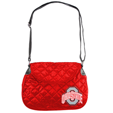 Ohio State Buckeyes Quilted Saddlebag - Charm14