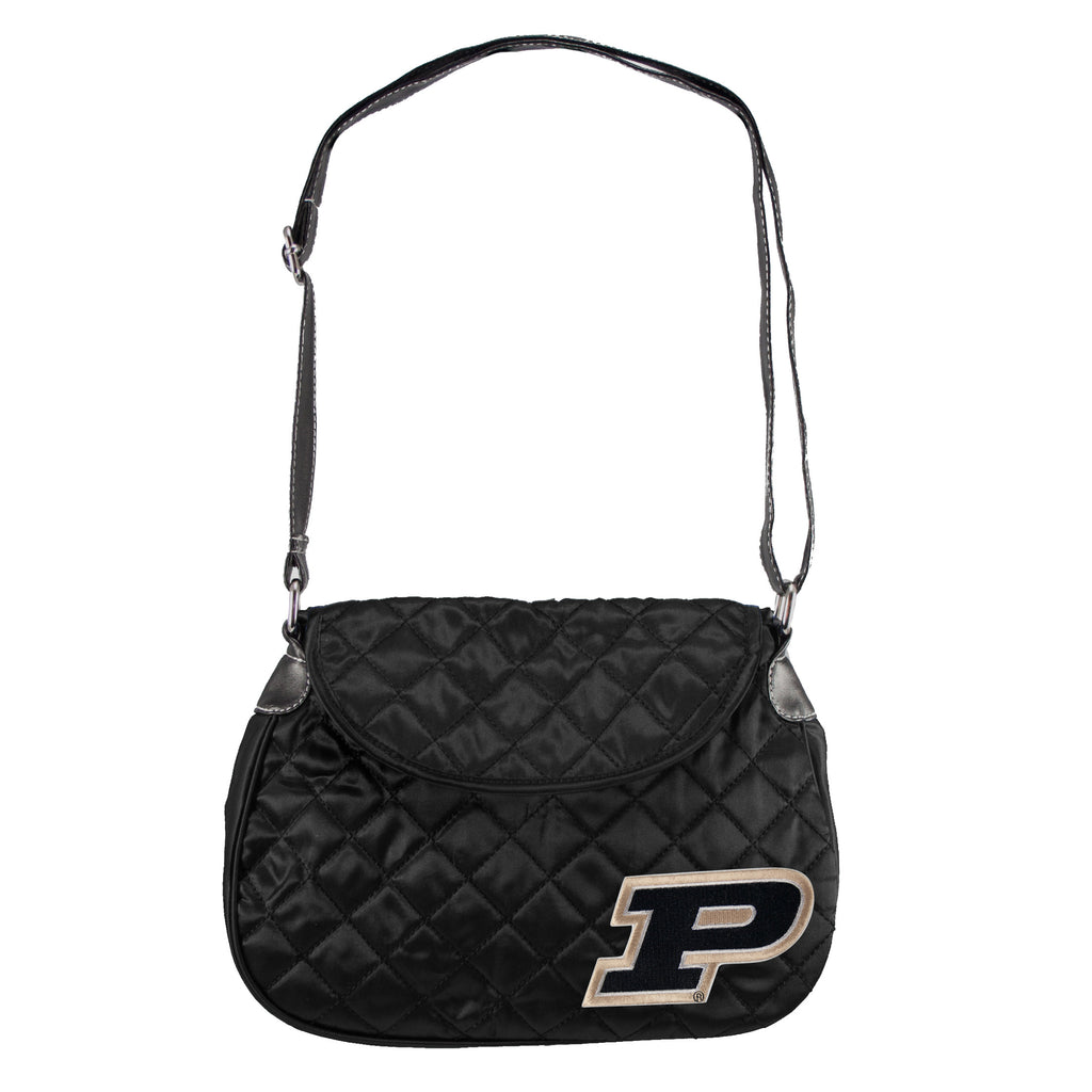 Purdue Boilermakers Quilted Saddle Bag - Charm14