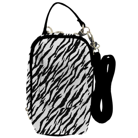 Cell Phone Purse - Zebra PursePlus XL with Touchscreen - Charm14