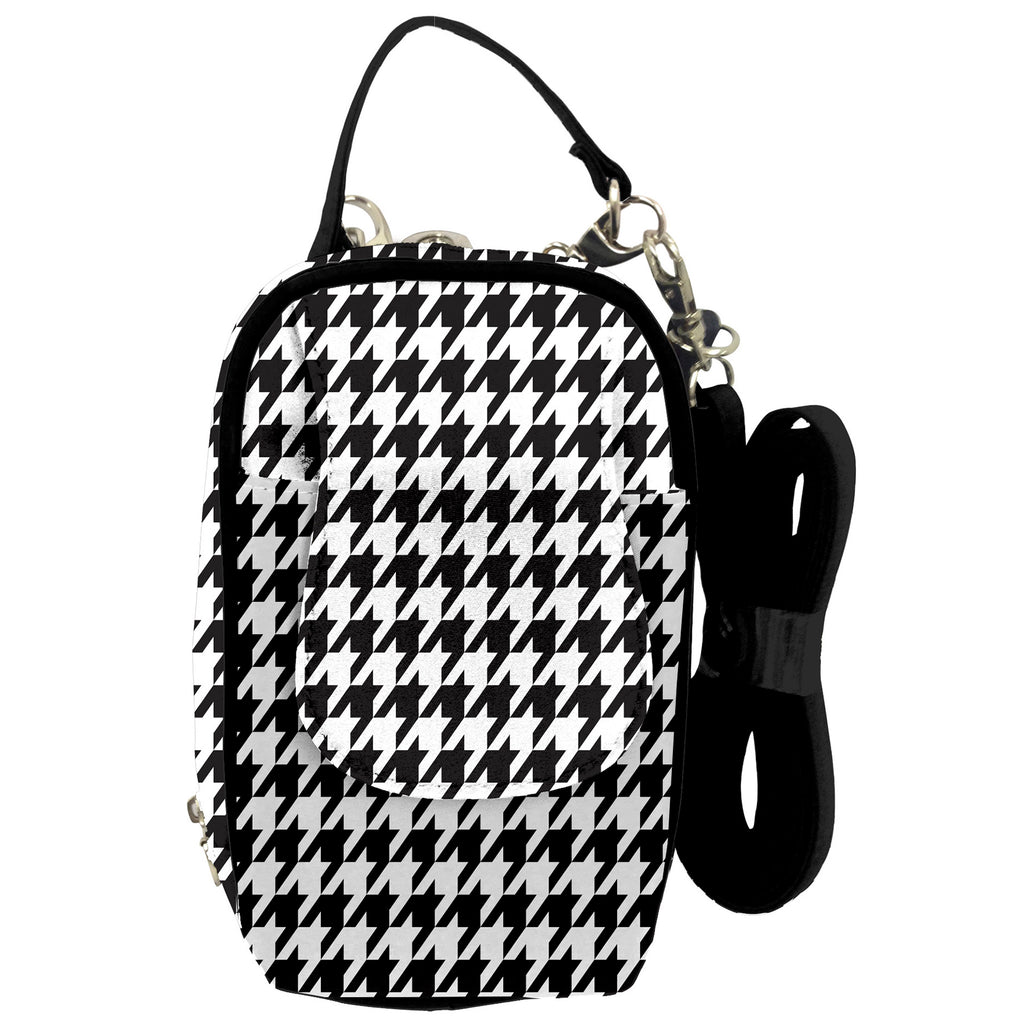 Cell Phone Purse - Houndstooth PursePlus XL with Touchscreen - Charm14