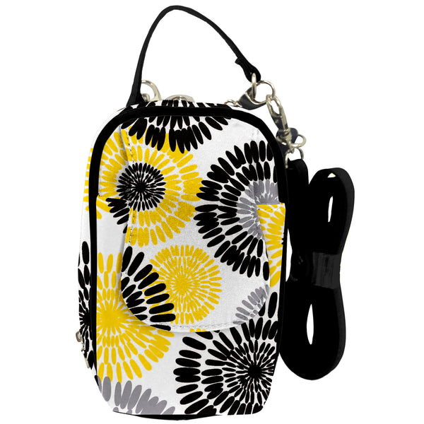 Cell Phone Purse - Spring Blooms PursePlus XL with Touchscreen - Charm14