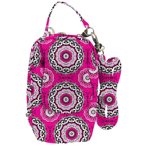 Cell Phone Purse - Boho Medallions PursePlus XL with Touchscreen - Charm14