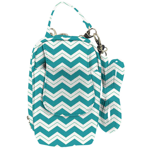 Cell Phone Purse - Chevron PursePlus XL with Touchscreen - Charm14