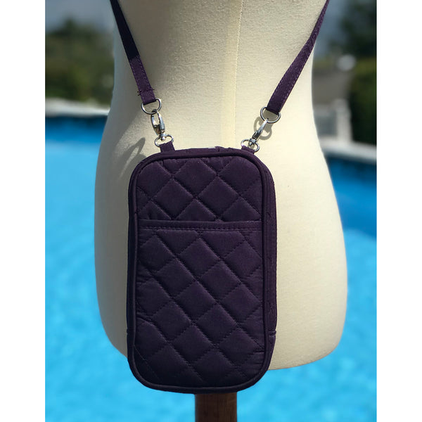 Cell Phone Purse - Grape PursePlus Quilt with Touchscreen