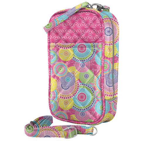 Cell Phone Purse - Kloe Quilt with Touchscreen - Charm14