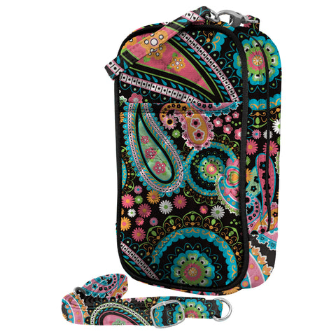 Cell Phone Purse - Penelope PursePlus Quilt with Touchscreen - Charm14