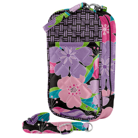 Cell Phone Purse - Layla PursePlus Quilt with Touchscreen - Charm14